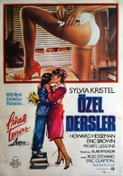 Private Lessons - Turkish Movie Poster (xs thumbnail)