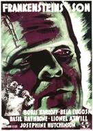 Son of Frankenstein - Swedish Movie Poster (xs thumbnail)