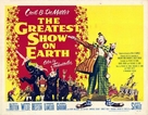 The Greatest Show on Earth - British Movie Poster (xs thumbnail)