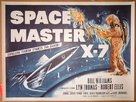 Space Master X-7 - British Movie Poster (xs thumbnail)
