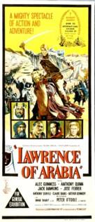 Lawrence of Arabia - Australian Theatrical poster (xs thumbnail)