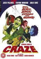Craze - British Movie Cover (xs thumbnail)