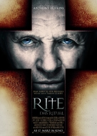 The Rite - German Movie Poster (xs thumbnail)