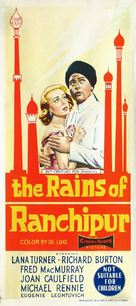 The Rains of Ranchipur - Australian Movie Poster (xs thumbnail)
