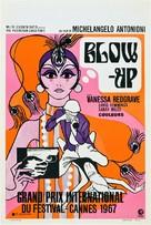 Blowup - Belgian Movie Poster (xs thumbnail)