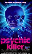 Psychic Killer - German VHS movie cover (xs thumbnail)
