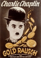 The Gold Rush - German Movie Poster (xs thumbnail)