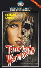 Terror in the Wax Museum - Finnish VHS movie cover (xs thumbnail)