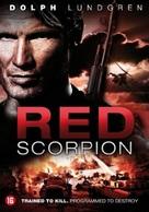 Red Scorpion - Dutch DVD movie cover (xs thumbnail)