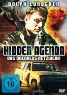 Hidden Agenda - German DVD movie cover (xs thumbnail)