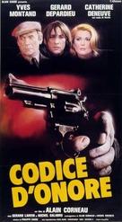 Le choix des armes - Italian Movie Poster (xs thumbnail)