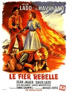 The Proud Rebel - French Movie Poster (xs thumbnail)