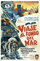 Voyage to the Bottom of the Sea - Argentinian Movie Poster (xs thumbnail)