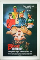 Bloody Birthday - Movie Poster (xs thumbnail)