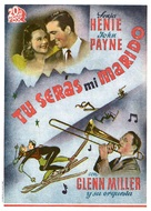 Sun Valley Serenade - Spanish Movie Poster (xs thumbnail)