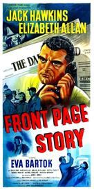 Front Page Story - British Movie Poster (xs thumbnail)