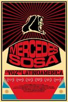 Mercedes Sosa: La voz de Latinoamérica - Movie Poster (xs thumbnail)