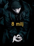8 Mile - Slovenian Movie Poster (xs thumbnail)