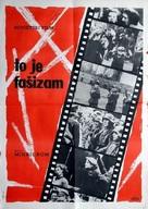 Obyknovennyy fashizm - Yugoslav Movie Poster (xs thumbnail)