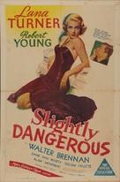 Slightly Dangerous - Australian Movie Poster (xs thumbnail)