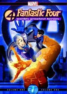 """Fantastic Four"" - DVD movie cover (xs thumbnail)"