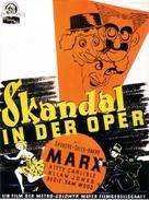 A Night at the Opera - German Movie Poster (xs thumbnail)