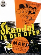 A Night at the Opera - German Movie Poster (xs thumbnail)