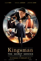 Kingsman: The Secret Service - Malaysian Movie Poster (xs thumbnail)