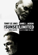The Sunset Limited - French DVD movie cover (xs thumbnail)