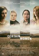 Certain Women - Dutch Movie Poster (xs thumbnail)