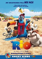 Rio - Swedish Movie Poster (xs thumbnail)