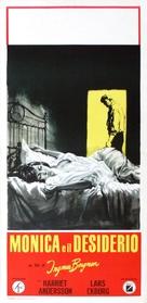 Sommaren med Monika - Italian Movie Poster (xs thumbnail)