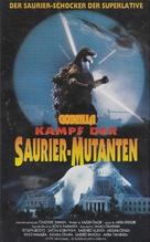 Gojira tai Mosura - German VHS movie cover (xs thumbnail)