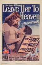 Leave Her to Heaven - Re-release movie poster (xs thumbnail)
