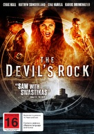 The Devil's Rock - New Zealand DVD cover (xs thumbnail)