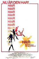 Hair - Swedish Theatrical poster (xs thumbnail)