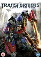 Transformers: Dark of the Moon - British DVD movie cover (xs thumbnail)