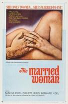 Une femme mariée: Suite de fragments d'un film tourné en 1964 - Movie Poster (xs thumbnail)