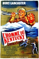The Kentuckian - French Movie Poster (xs thumbnail)