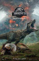 Jurassic World Fallen Kingdom - Slovenian Movie Poster (xs thumbnail)