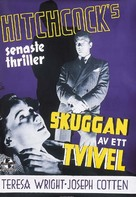 Shadow of a Doubt - Swedish Movie Poster (xs thumbnail)