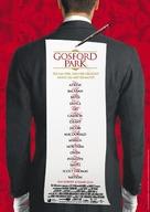 Gosford Park - German Movie Poster (xs thumbnail)
