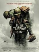 Hacksaw Ridge - French Movie Poster (xs thumbnail)