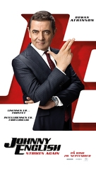 Johnny English Strikes Again - Norwegian Movie Poster (xs thumbnail)