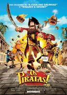 The Pirates! Band of Misfits - Portuguese Movie Poster (xs thumbnail)