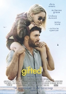 Gifted - Dutch Movie Poster (xs thumbnail)