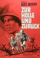 To Hell and Back - German Movie Poster (xs thumbnail)