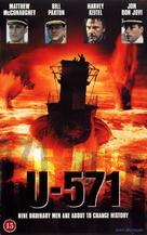 U-571 - British Movie Cover (xs thumbnail)