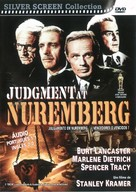 Judgment at Nuremberg - Brazilian DVD cover (xs thumbnail)