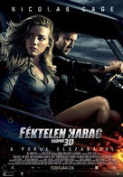 Drive Angry - Hungarian Movie Poster (xs thumbnail)
